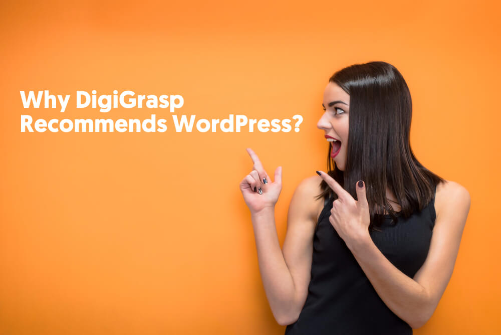 Why DigiGrasp Recommends WordPress?